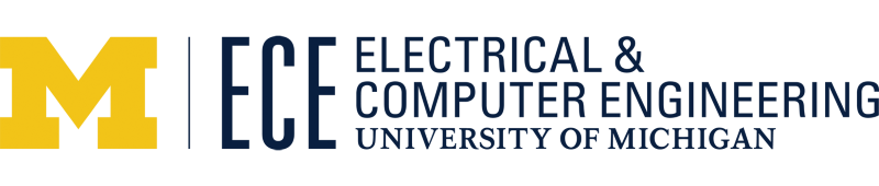 Umich Electrical and Computer Engineering logo