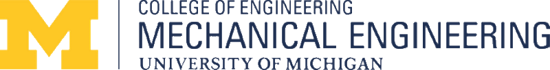 Umich Mechanical Engineering logo